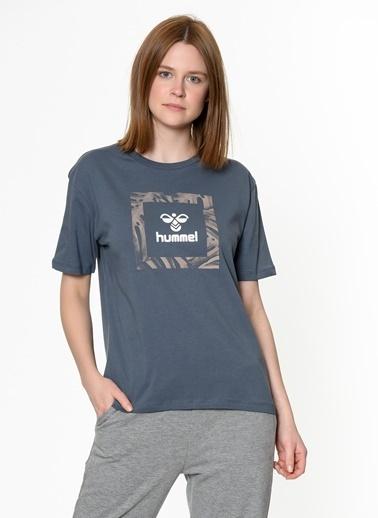 Hummel Kadın Tişört Aidia 910945-8241 Mavi